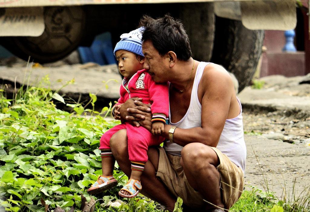 Fatherly love by pinaki baidya