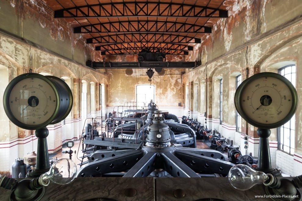 Crespi d'Adda power station, Crespi d'Adda, Italy.