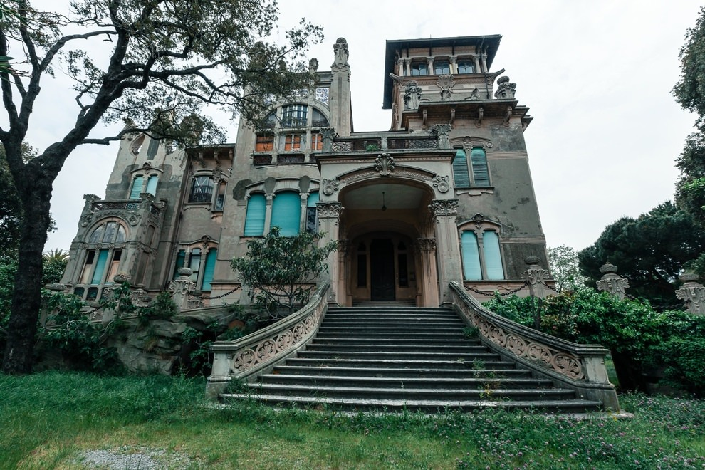 Villa Zanelli Savona, Italy.